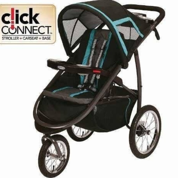 Graco Jogging Stroller With Infant Car Seat
